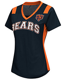 G-III Sports Women's Chicago Bears Wildcard Jersey T-Shirt