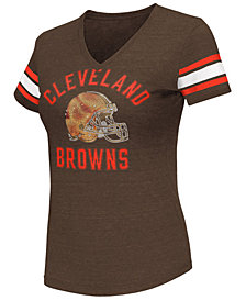 G-III Sports Women's Cleveland Browns Wildcard Bling T-Shirt