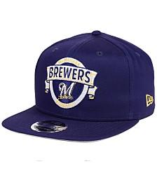 New Era Milwaukee Brewers Banner 9FIFTY Snapback Cap