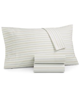 CLOSEOUT! Printed 220 Thread Count 4-Pc. King Sheet Set, Created for Macy's