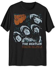 Beatles Rubber Soul Men's Graphic T-Shirt