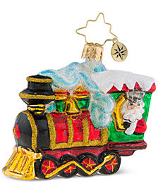 Christopher Radko All Aboard Little Gem Ornament