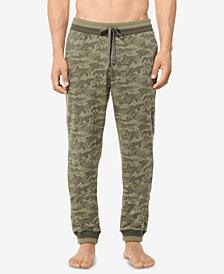 Michael Kors Men's Jacquard Camo Pajama Pants