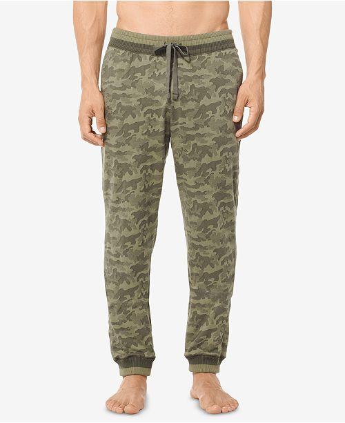 cb0d49d7b537 Michael Kors Men s Jacquard Camo Pajama Pants  Michael Kors Men s Jacquard  Camo Pajama ...