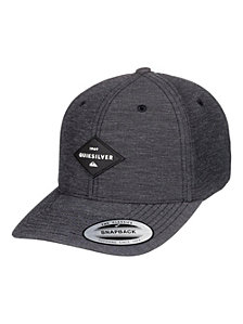 Quiksilver Men's Union Heather Snapback Hat