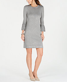 Jessica Howard Embellished Sweater Dress