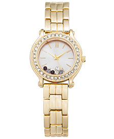 Charter Club Women's Gold-Tone Bracelet Watch 31mm, Created for Macy's