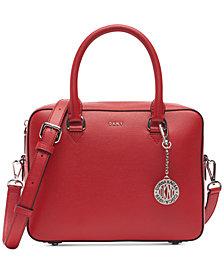 DKNY Bryant Zip Satchel, Created for Macy's