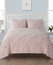 VCNY Home Floral Burst Reversible 3-Pc. King Quilt Set