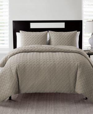 Vcny Home Nina 2-Pc. Embossed King Quilt Set 6729211