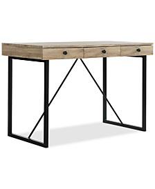 Hilton 3-Drawer Desk, Quick Ship