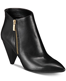 I.N.C. Women's Gaetana Ankle Booties, Created for Macy's