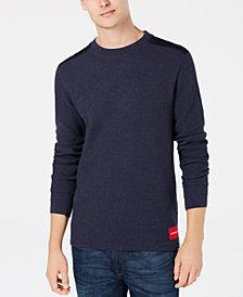 Calvin Klein Jeans Men's Waffle Knit Sweater