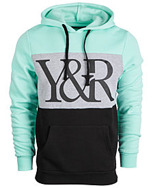 Young & Reckless Men's Colorblocked Logo Hoodie