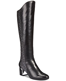 DKNY Cerri Over-The-Knee Boots, Created for Macy's