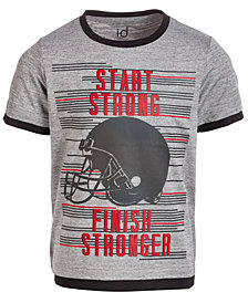 Ideology Little Boys Strong-Print T-Shirt, Created for Macy's
