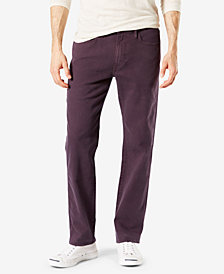 Dockers Men's Alpha Jean-Cut Straight-Fit Khaki Pants D2