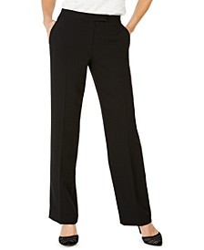Tab-Waist Modern Dress Pants
