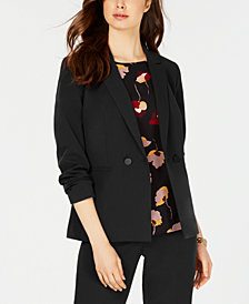 Nine West Double-Breasted Blazer