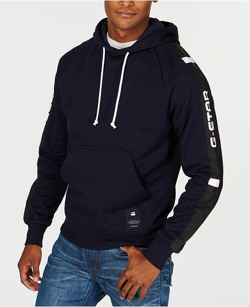 ae83cfc4a1b G-Star Raw Men's Swando Logo Graphic Hoodie, Created for Macy's ...