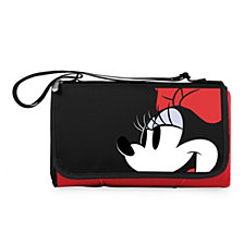 Picnic Time Minnie Mouse Button Eye Blanket Tote Outdoor Picnic Blanket