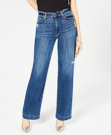7 For All Mankind Alexa High-Rise Wide-Leg Jeans