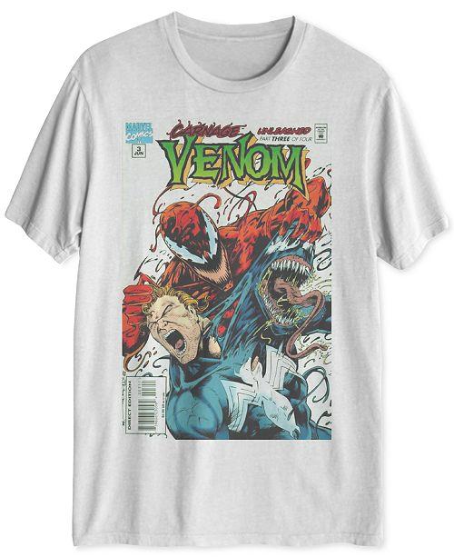 32b704d2cd3 Hybrid Marvel s Venom Carnage Unleashed Men s Graphic T-Shirt ...