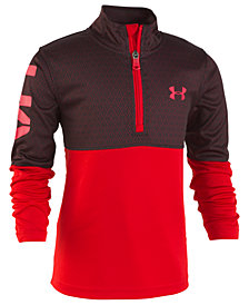 Under Armour Little Boys Razor 1/4-Zip Shirt