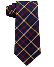 Club Room Men's Charles Plaid Silk Tie, Created for Macy's
