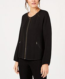 Eileen Fisher Zip-Up Jacket