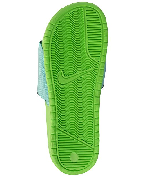 238f59edeb21 Nike Men s Benassi JDI Fanny Pack Slide Sandals from Finish Line ...