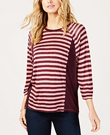 MICHAEL Michael Kors Striped Top