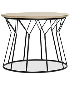 Alcott Wood End Table, Quick Ship