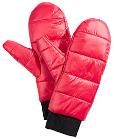 DKNY Quilted Puffer Mittens, Created for Macy's
