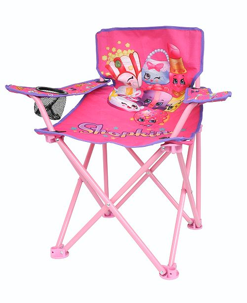 Furniture Shopkins Toddler Folding Camp Chair