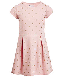 Epic Threads Toddler Girls Glitter-Dot Dress, Created for Macy's