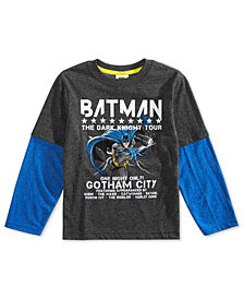 DC Comics Little Boys Batman Tour Graphic T-Shirt