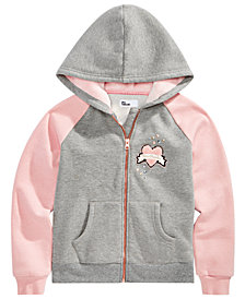 Epic Threads Big Girls Full-Zip Hooded Sweatshirt, Created for Macy's