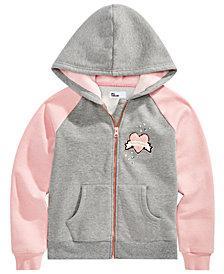 Epic Threads Big Girls Full-Zip Hooded Sweatshirt, Created for Macy's