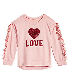 Beautees Big Girls Love Graphic Shirt