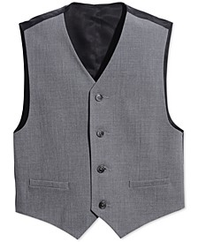 Big Boys Slim Fit Stretch Suit Vest