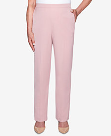Alfred Dunner Petite Home for the Holidays Pull-On Pants