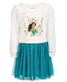 Disney Toddler Girls Layered-Look Elena Dress