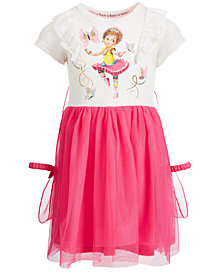 Disney Little Girls Nancy Butterfly Dress With Cape