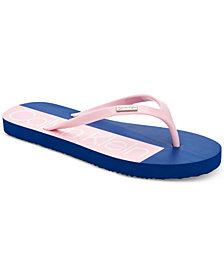 Calvin Klein Women's Sonic Flip-Flop Sandals