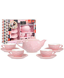 FAO Schwarz Toy Ceramic Tea Set