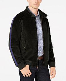 Tallia Men's Slim-Fit Stretch Corduroy Bomber Jacket