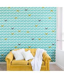 Deny Designs Heather Dutton Take Flight Aqua 8'x8' Wall Mural