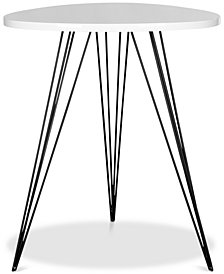 Wolcott Retro Lacquer Side Table, Quick Ship