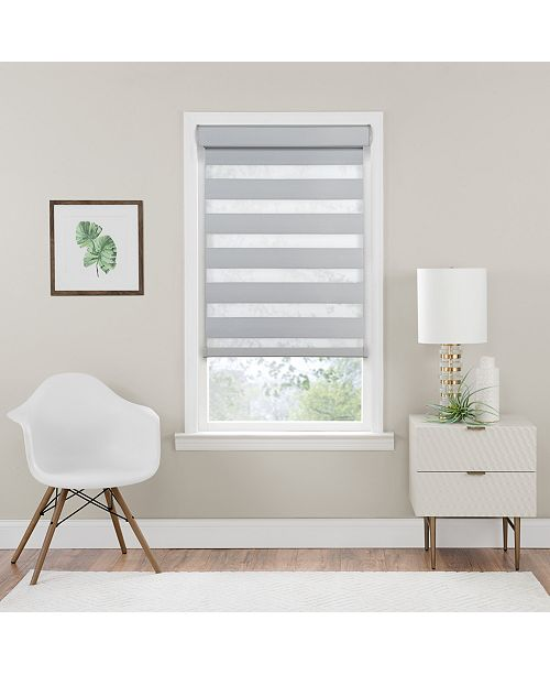 Achim Cordless Celestial Room Darkening Double Layered Shade Collection